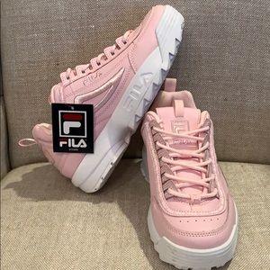 Fila Pink Disruptor 2 Sneakers